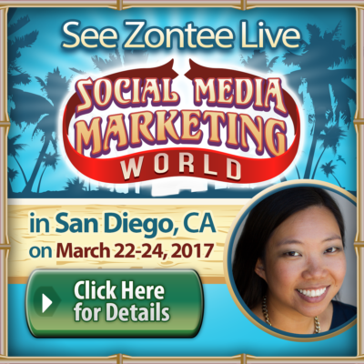 Join Zontee at Social Media Marketing World 2017